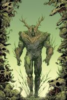Swamp-Thing colored by BrianSoriano