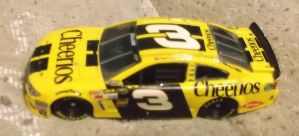 2014 Austin Dillon #3 Cheerios Chevy car by Chenglor55