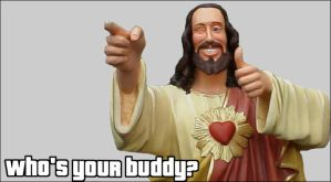 Buddy Christ by thewholeworld