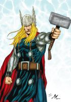 THOR  by mikemaluk color : by Mich974