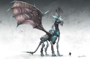 Ice Dragon by FranklinChan