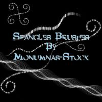 Spangles Brushes by Monumnas-Stock