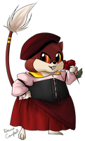 PKMNC: RR - The Tavern Wench by lady-obsessed