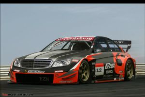 Mercedes C super GT by Yzn90