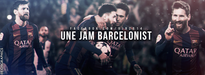 Une Jam Barcelonist // Cover by EriongraphicOfficial