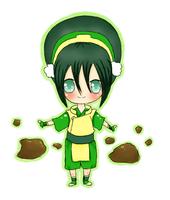 Avatar the Last Airbender: Toph by CrayonStix