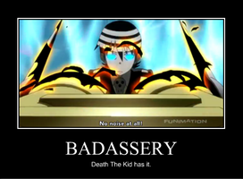 Death the kid has Badassery by Mindastan