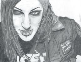 Chris Motionless by Reizuki032