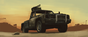 Wasteland Truck by foreverforum