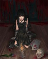 +.Brackish.+_____Gothic Girl by annuchan