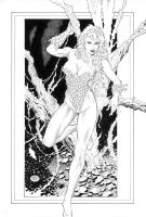 Poison Ivy_Commission by MichaelBair