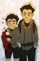 Bolin and Mako by palnk