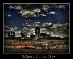 Sadness in the City by Mystik-Rider