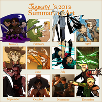 2013 Summary of Art by Jejunity