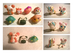 My First Polymer Clay Charms by Sarilain
