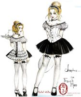 Josephine the French Maid by Oniko-art