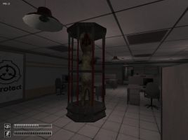 SCP-173 contained. by maxalate