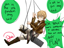 APH - DANGLING IN STRINGS by limont