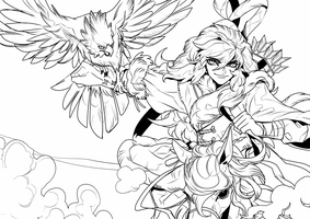 lineart by Byam