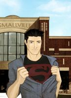 Smallville High's superhero by sammage