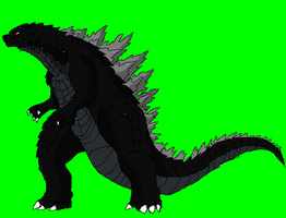Godzilla 2014 Sprite 2 by brunolin
