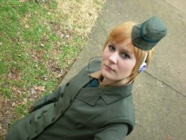 Fem!Germant Cosplay 2 by grellsmidnightlover
