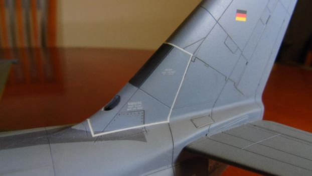 1/48 Scale S-3GC Viking (tail details) by Coffeebean2