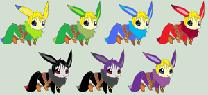 Eevee Link Adoptables [Closed] by ReinFalling