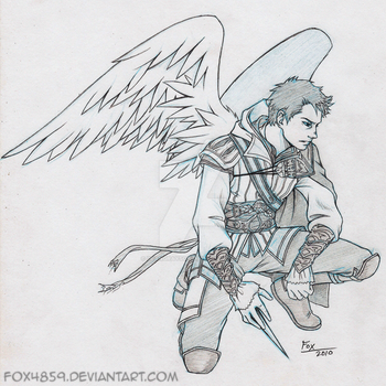 Assassin Castiel by DeanGrayson