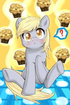 Cute Derpy Hooves - Huh? by Chikow