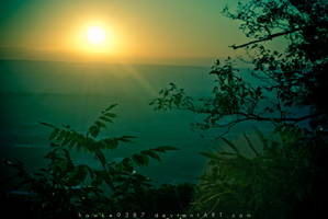 View from Lookout Mt 2 by AJPastor