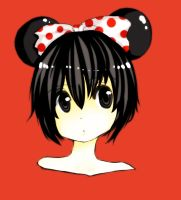 Minnie Mouse by amu-chan13