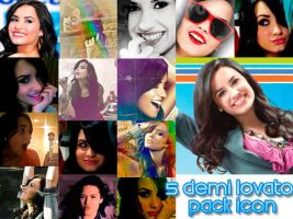PACK. Demi Lovato Icons by MissWeasleyJB