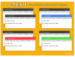 G-Talkie (XFCE Window Decorations) by ugoyak