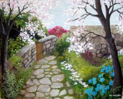 Spring in Datca by Hydrangeas
