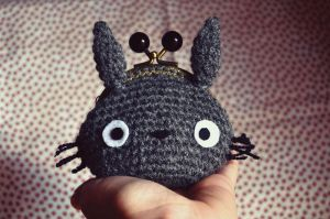 Totoro Purse by Sumire-Art