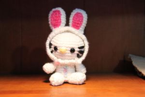 Easter Bunny Hello Kitty by CraftedKansas