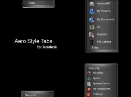 AeroStyle Tabs for Avedesk by SirSmiley