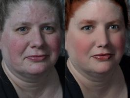 Woman - Before and After by Jessica-AuBuchon