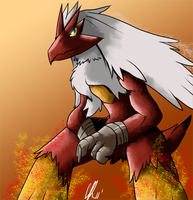 Shiny blaziken V2 by Phatmon