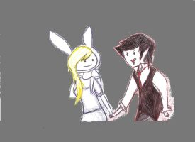 Fionna N Marshall Lee by Kyonwolf
