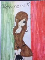 Hetalia South Italy by xxxIggyxFangxxx