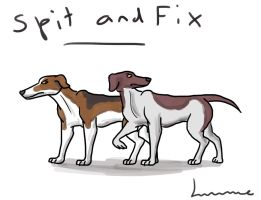 Slang's Dogs - Spit and Fix by Louisetheanimator