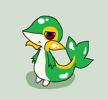 IT'S A SNIVY by oOMericaOo