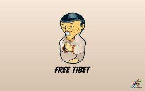 Free Tibet by seventh