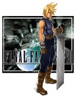 cloud final fantasy 7 by flo-moshi