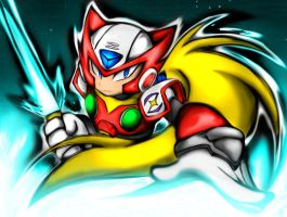 ZERO READY FOR BATTEL by WhiteFox89