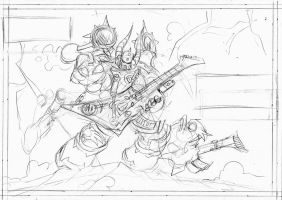 Noise Marine Sketch by NachoMon