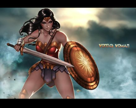 Wonder Woman by ErikVonLehmann