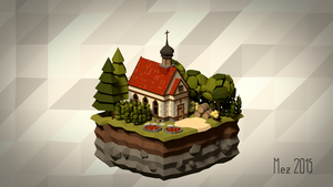 House 10 [Isometric][LowPoly] by Mezaka